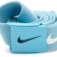 Nike Mens Tech Essential Belt, Valor Blue, One Size