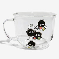 Studio Ghibli Spirited Away Soot Sprite Glass Mug