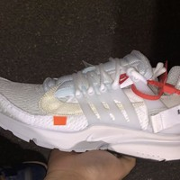 BC SPBEST Nike Air Presto Off-White Virgil Abloh White Black AA3830-100 2018