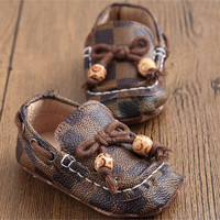 Leather Soft Soled Loafer