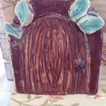 Fairy Door - Ceramic Garden Gift - Handmade Pottery