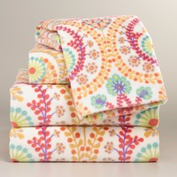 Coral Treetop Printed Towel Collection