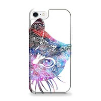 Aztec Cat In Rainbow Color iPhone 7 | iPhone 7 Plus Case