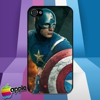 The Avengers Captain America iPhone 4 or iPhone 4S Case