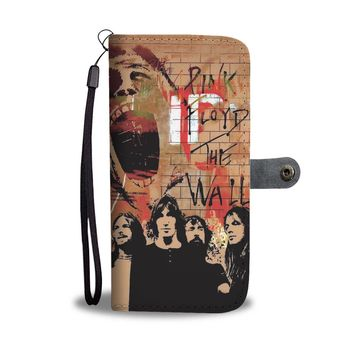 KUYOU Pink Floyd The Wall Wallet Phone Case