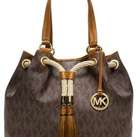 Women's MICHAEL Michael Kors 'Large Marina' Gathered Tote