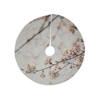 "Catherine McDonald ""Japanese Cherry Blossom"" Tree Skirt"