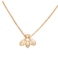 B.D. Gold Bee Necklace