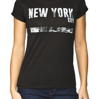 Girls 'New York' Graphic Tee