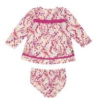 Angel Baby 2Pc Wildflower Print Dress With Panty by Juicy Couture,