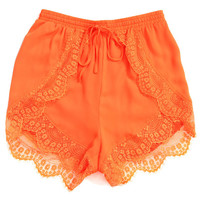 Sparrow Shorts Neon Orange