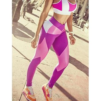 Poison Pink Brazilian Workout Legging