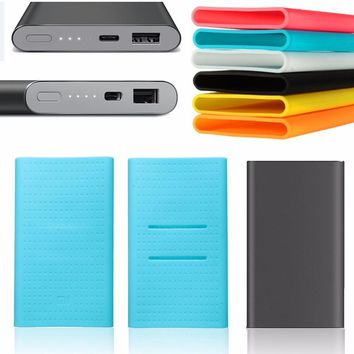 Silicone Case Rubber Cover For Power Bank Charger