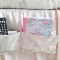 Remote caddy, bed caddy, remote control holder or organizer for in the bedroom or living room