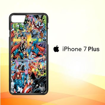 dc vs marvel Z0882 iPhone 7 Plus Case