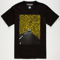 Fyasko Escape Mens T-Shirt Black  In Sizes