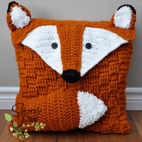Animal Pillow Pack Crochet PATTERNS pdf