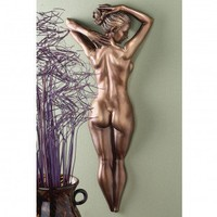 Design Toscano Timeless Beauty Wall Sculpture in Antique Bronze - DB383055