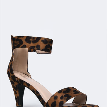 Sleek Ankle Strap Sandal