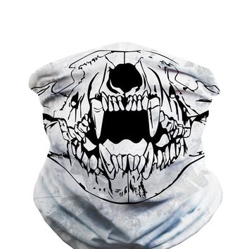 Bear Skull Seamless Mask Bandana