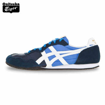 2016 Breathable Men Running Shoes Onitsuka Tiger SERRANO Lover Sneakers Lightweight Outdoor Women Jogging Shoes D109L