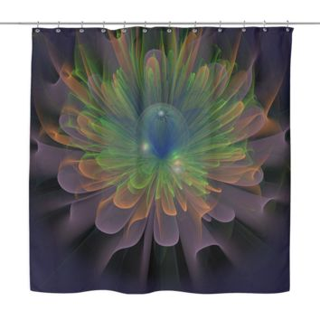 Floral Illusions Shower Curtain
