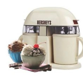 Dual/Single Serve Ice Cream Machine by Hershey