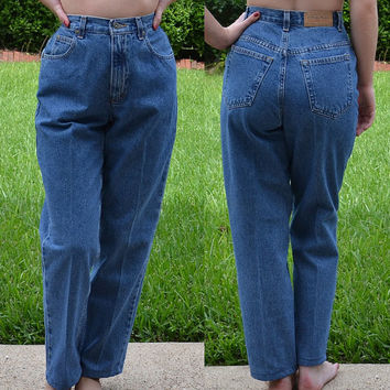 90's High Waisted Jeans / Size 4 Petite