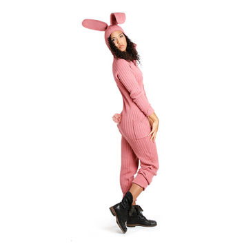 BUNNY SUIT for Men and Women - Designer Spencer Hansen for Blamo Toys - Adult Rabbit One Piece Easter Bunny Costume