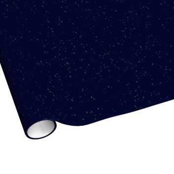 Sparkly Night Sky Wrapping Paper