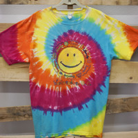 Vintage Vacation Tee- Tie Dye Washington DC
