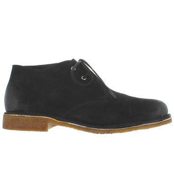 Hush Puppies Norco - Black Suede Desert Boot