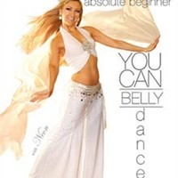 """""""You Can Belly Dance: 2 Beginner Belly Dancing Routines"""" DVD with Neon"""
