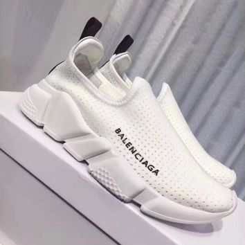 Balenciaga Woman Men Fashion Breathable Sneakers Sport Shoes
