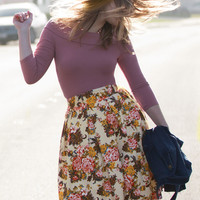 In a Moment of Sweetness Skirt | Mod Retro Vintage Skirts | ModCloth.com