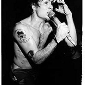 Henry Rollins London 10th February 1983 Punk Rock Music PAPER Poster Measures 33 x 24 inches (84 x 60 cm) approx