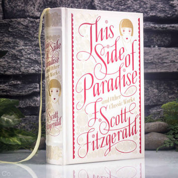 Hollow Book Safe - This Side of Paradise - F. Scott Fitzgerald (LEATHER BOUND)