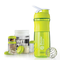 Sport Water Bottle Eco-friendly Non-toxic Protein Powder Shaker Cups Portable Bottle