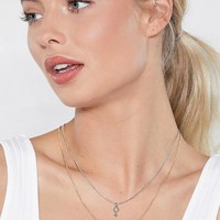 Two's the Charm Layered Necklace