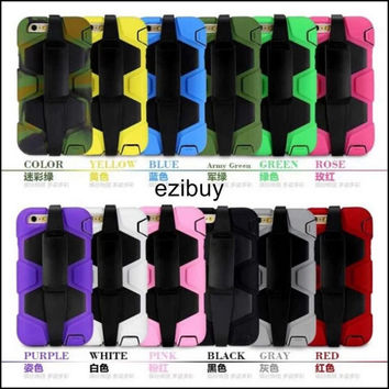 """cell phone case for iphone 6 plus 5.5"""" silicone + pc protective shell cover for mobile phone"""