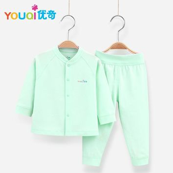 YOUQI Baby Boys Clothes Girls Clothing Set Toddler Infantil Costumes T-shirt Pants Suit 3 6 9 Months Spring Autumn Baby Clothes