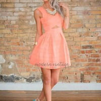 Bound In Your Love Neon Coral