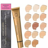 13 Colors Waterproof Liquid Base Corrector Concealer Make Up Face Foundation Cream Contour Highlight