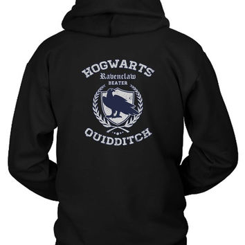Ravenclaw Quidditch Hoodie Two Sided