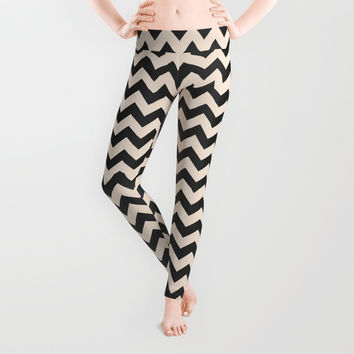 Twin Zig Leggings by Trevor May