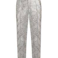 Floral-brocade straight-leg trousers | Gucci | MATCHESFASHION.COM UK