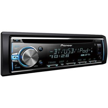 Pioneer DEH-X6810BT AM/FM/CD/Apple iPod Car Stereo with Built-In Bluetooth - Walmart.com
