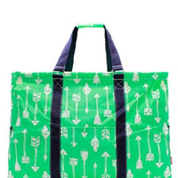 Utility Tote Extra Large - Arrow Print - 4 Color Choices