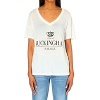 WILDFOX - Secret Royal oversized t-shirt | Selfridges.com