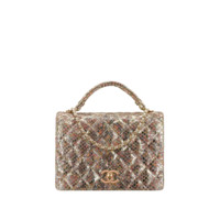 CHANEL Fashion - Flap bag with top handle